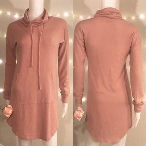 Fashion Nova Mockneck sweatshirt dress
